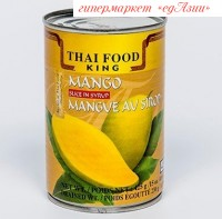 Манго в сиропе Thai Food King, 425 гр