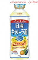 Масло салатное Nissin Canola Oil, 400 г